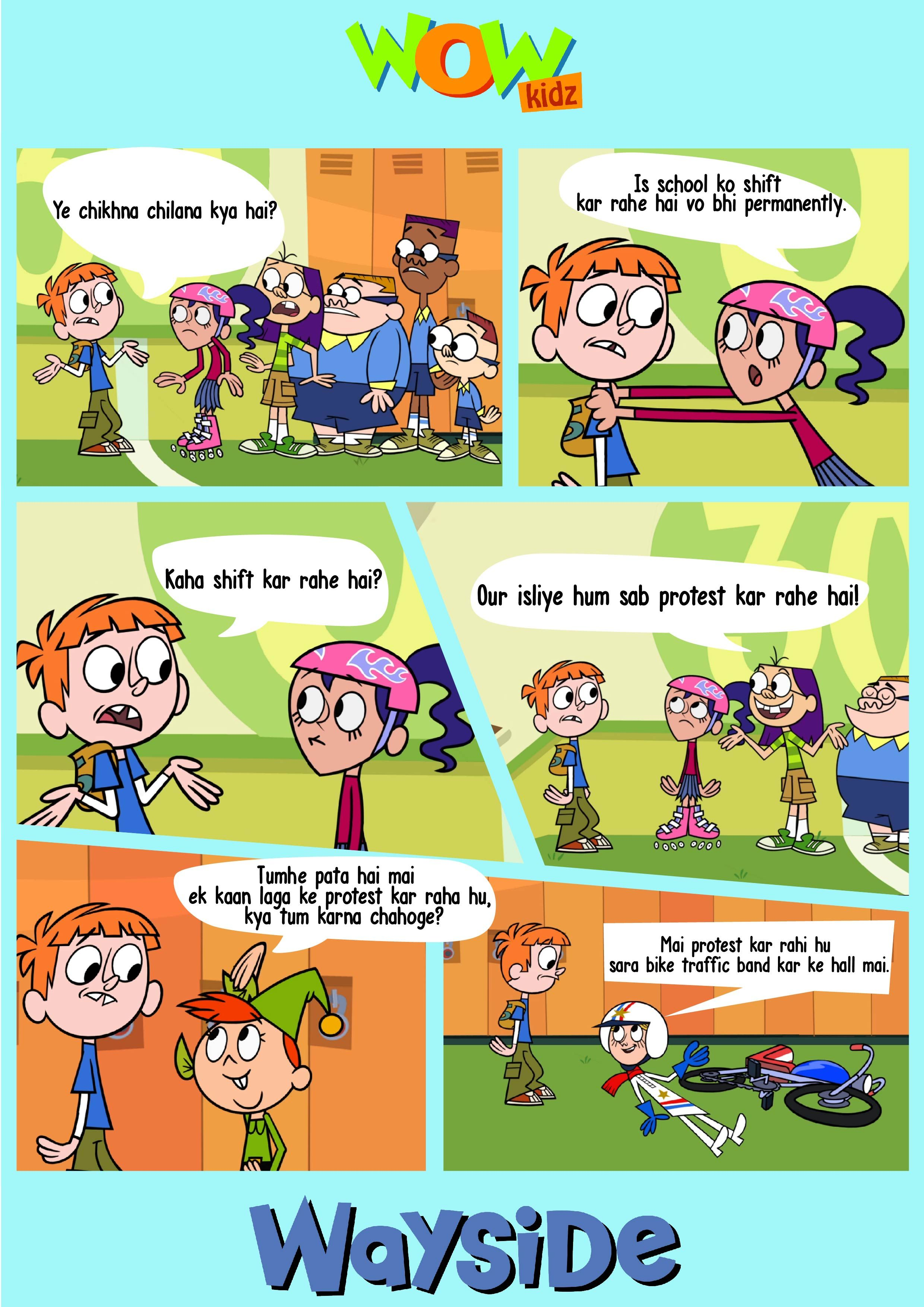 What Is The Protest In Wayside School About Wowkidz Waysideschool Cartoon Kids Fun Wayside School Cartoon Fun