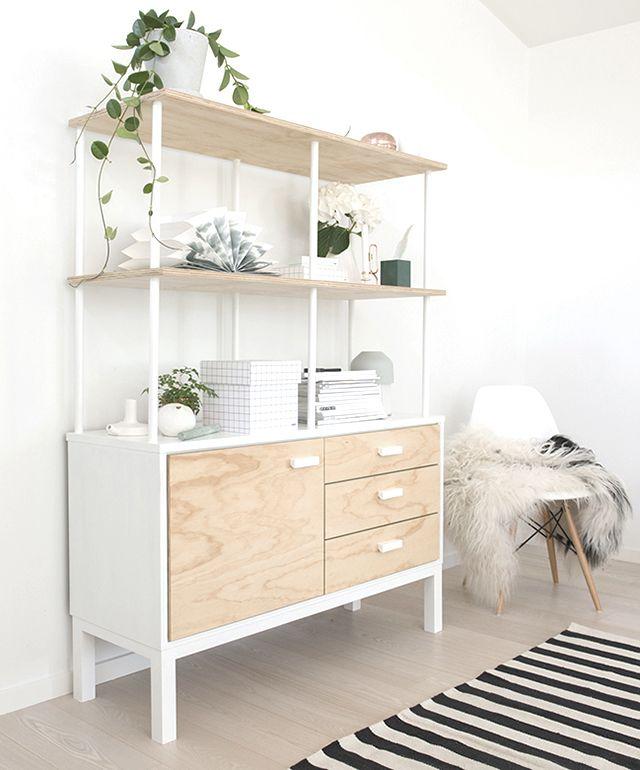 Diy Shelving Unit: Diy Shelves, Home Diy, Simple