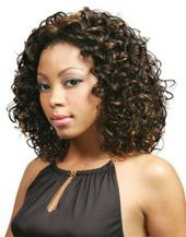 Sizzling Medium Curly Prom Hairstyles for African American Women – #African #Ame…