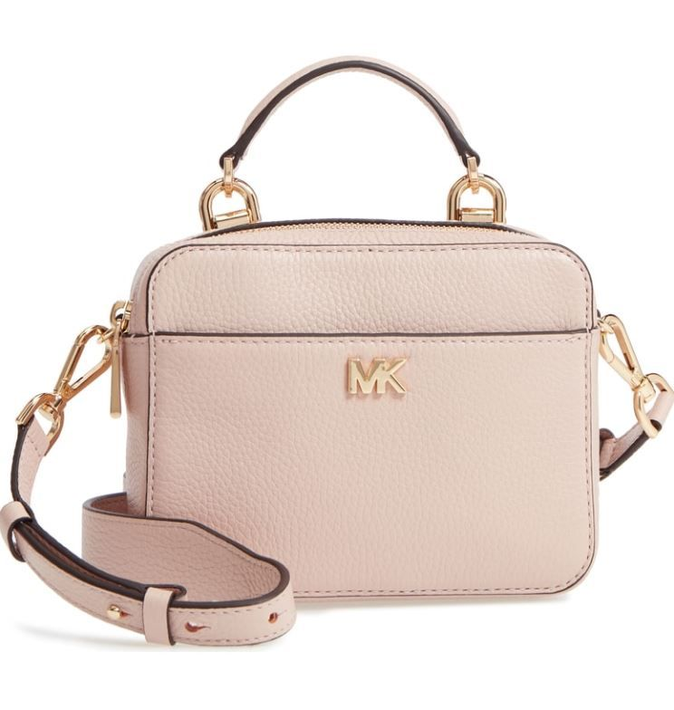 fbc03530b2891 MICHAEL Michael Kors Mott Mini Pebbled Leather Crossbody 32T8GF5C0L ...