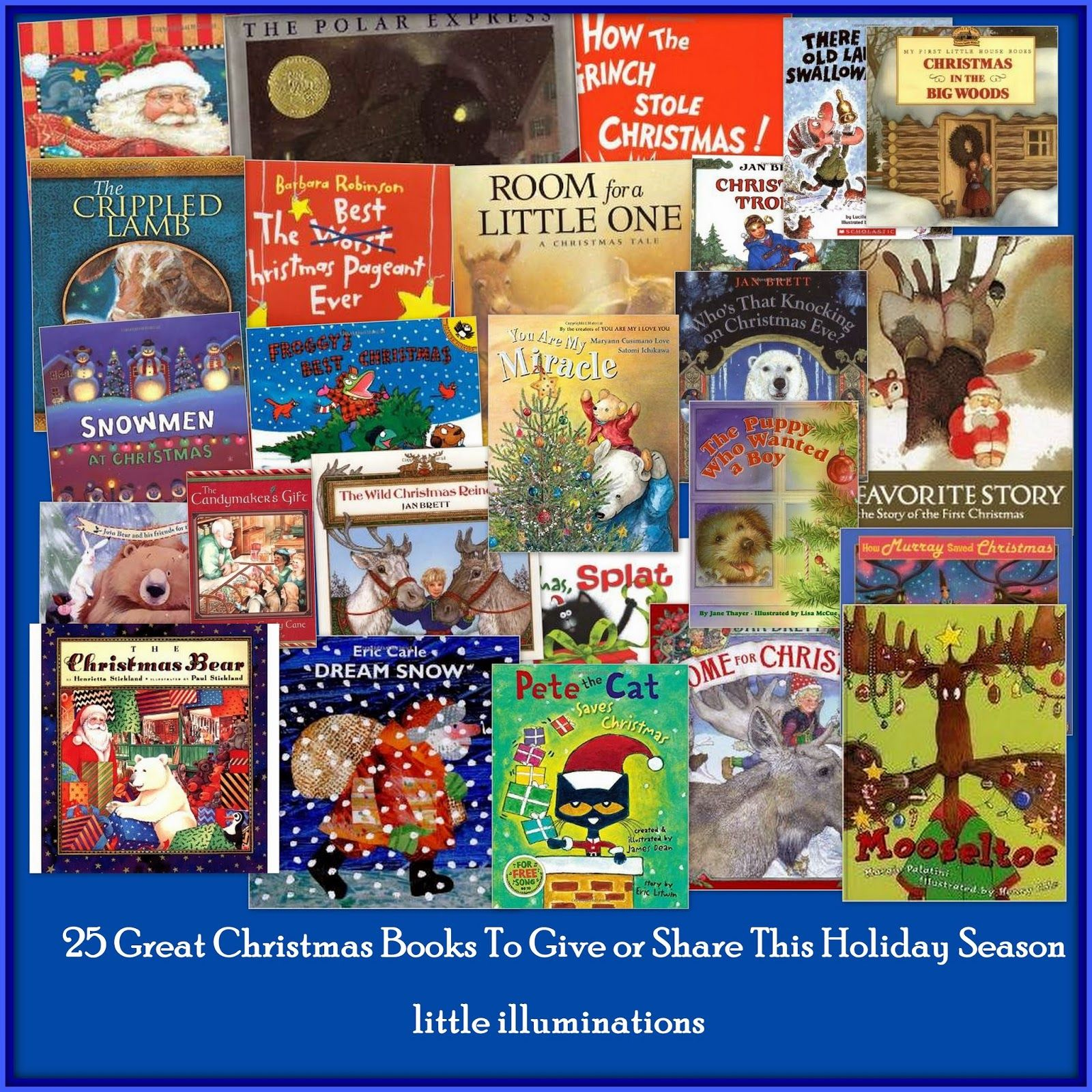 25 Great Christmas Books For Children At Prekk Sharing Going To
