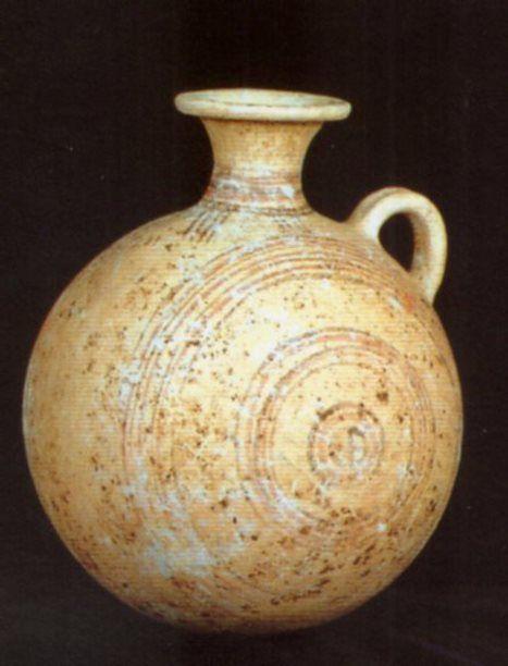 Hittite, pilgrim-flask, Kültepe (Tahsin Özgüç) (Erdinç Bakla archive)