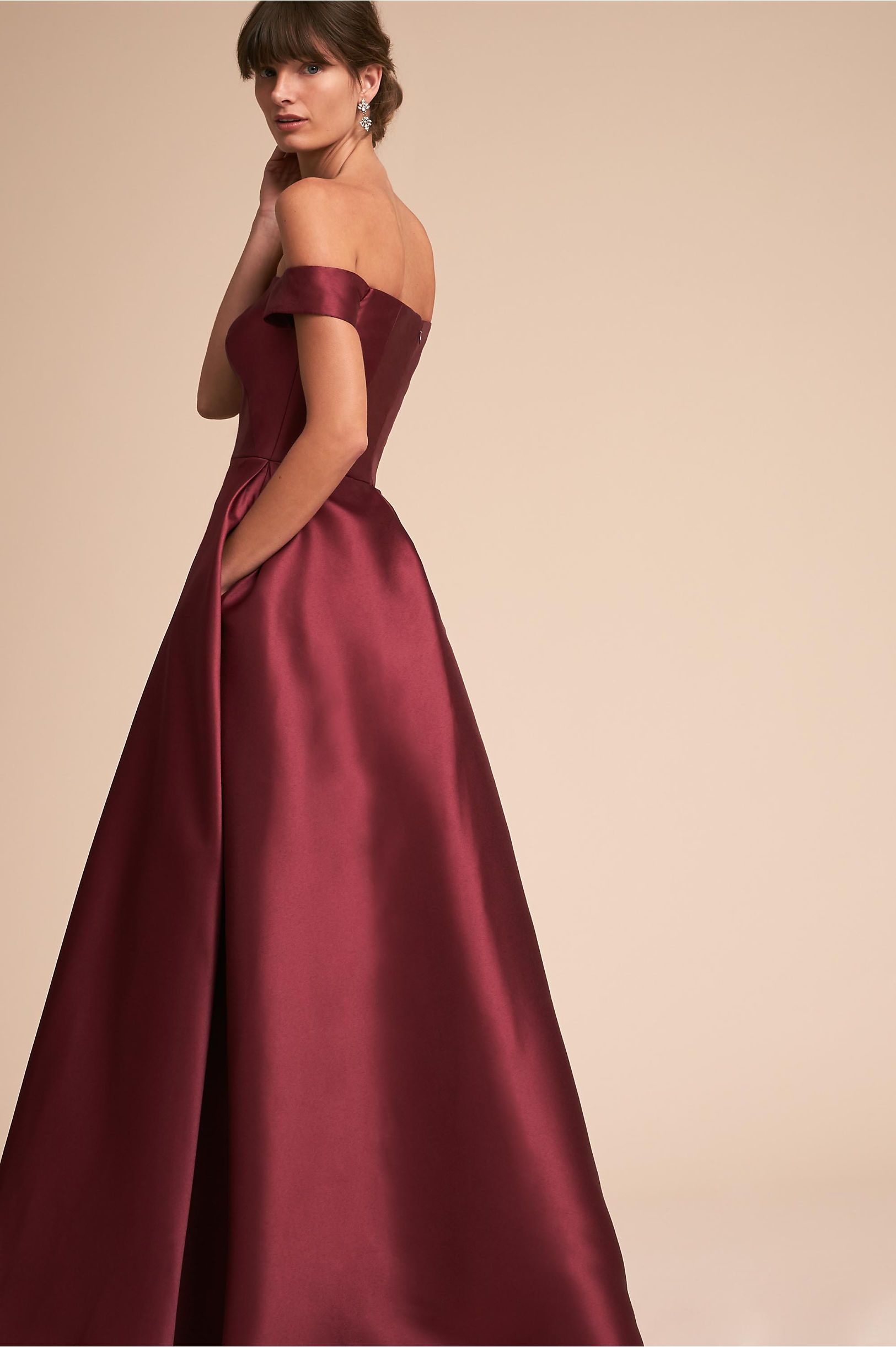 3a3fbfda9841 BHLDN Chatham Dress Raspberry in Occasion Dresses