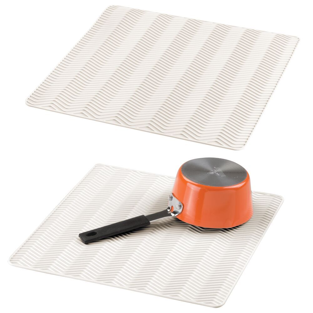 Silicone Kitchen Counter Drying Mat Protector 12 X 12 In 2021 Silicone Kitchen Mdesign Kitchen Counter