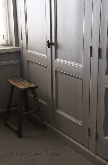 Kastenwand in slaapkamer | SLAAPKAMER | Pinterest | French armoire ...