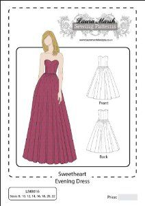 Sweetheart Dress Pattern
