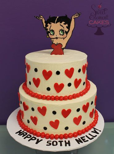 Outstanding Betty Boop Birthday Cake Betty Boop Birthday Betty Boop Betty Birthday Cards Printable Opercafe Filternl