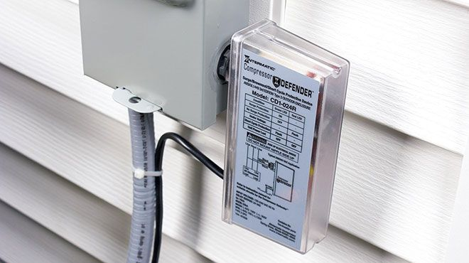 How To Protect Your Air Conditioner From Voltage Drops And Power Surges Home Protection Hvac Hvac Air Conditioning
