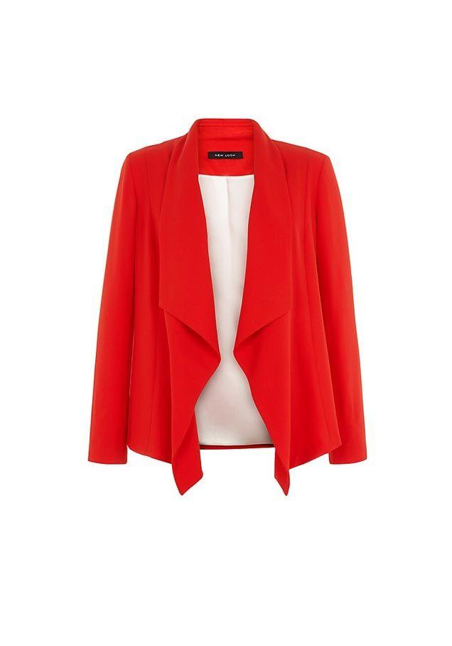 Blazer Long Rouge 2