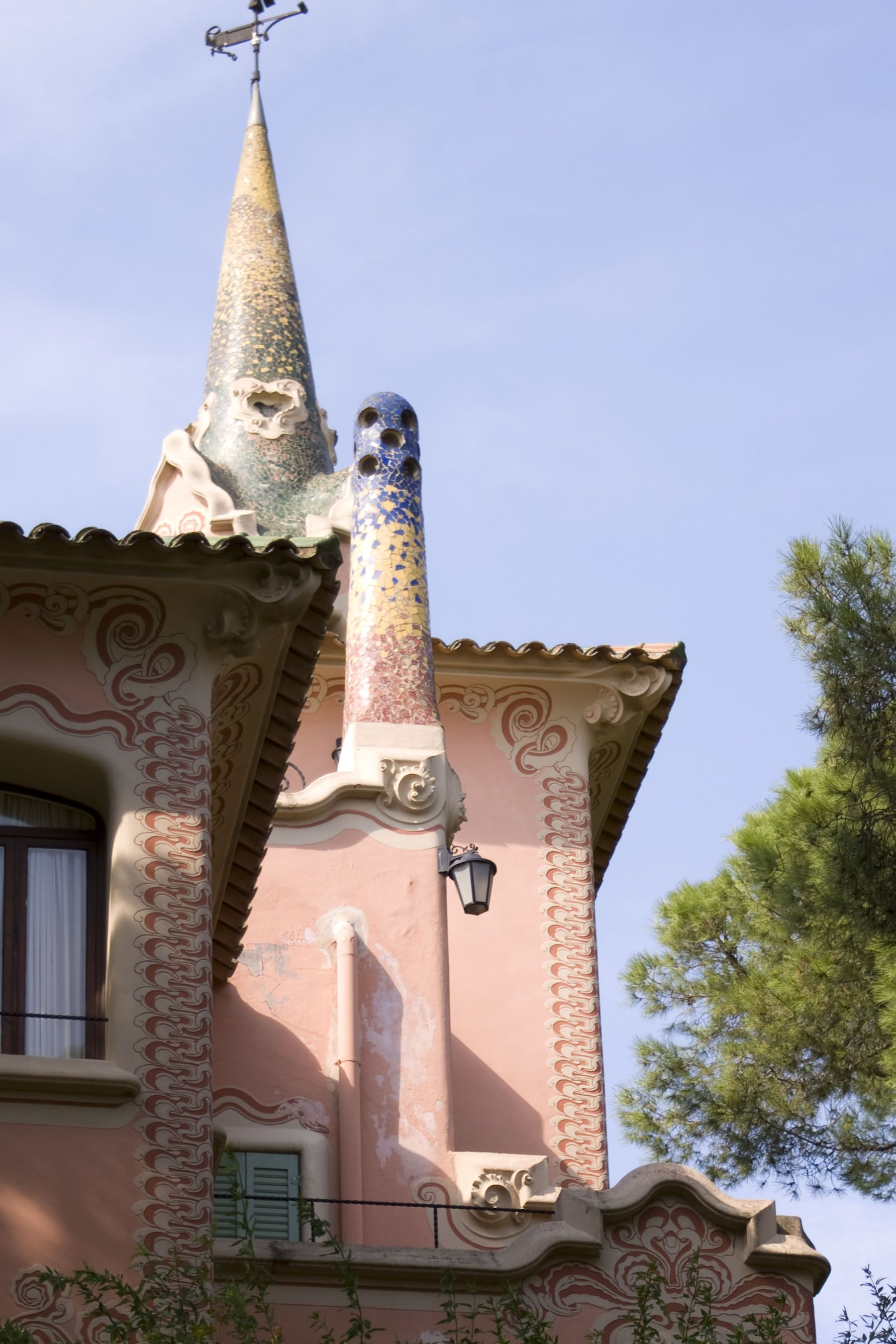 Spain - Barcelona - Parc Guell - Gaudi park - By: Lisette Eppink
