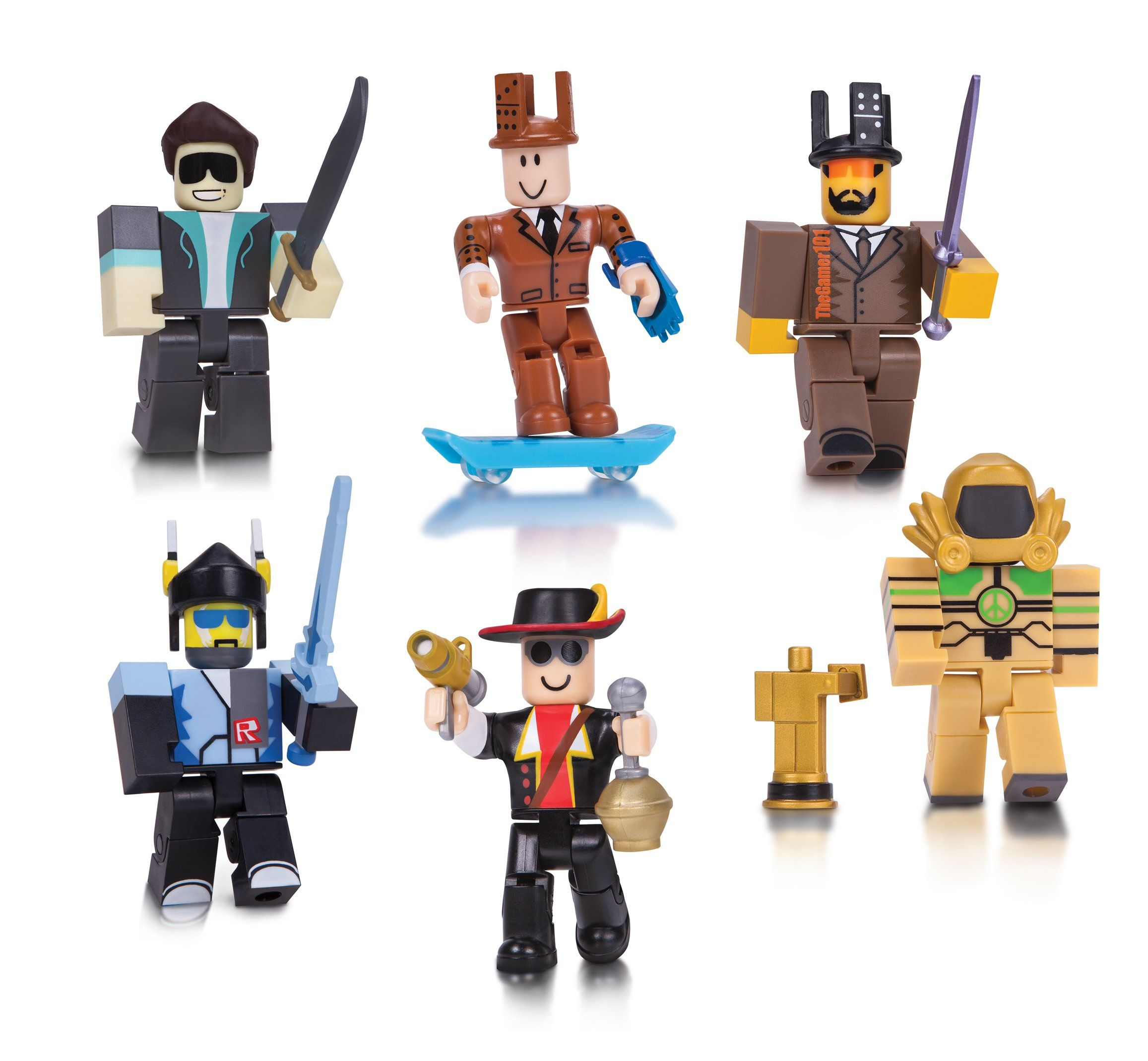 Roblox Legends 6 Pack Action Figures Legends Of Roblox Pack