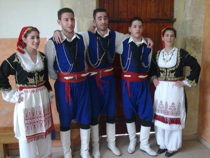 100% calitate dimensiunea 40 data eliberării Cretan Traditional Costumes.. | Greek costume, Greek traditional ...