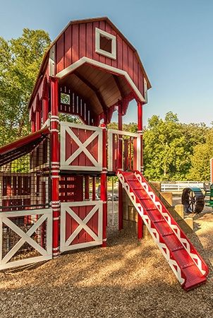 Sibley Park Farmstead Themed Playground Diy Playground