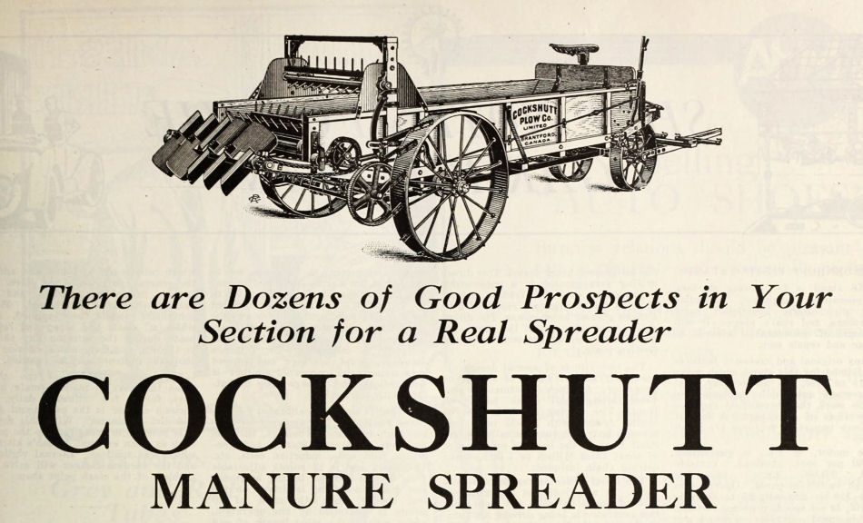 Cockshutt Farm Equipment Plow Company Decal Choose From 8 Sizes #70-9200