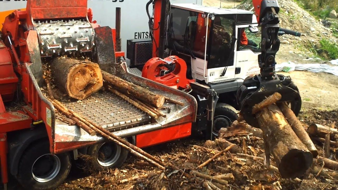 Powerful Extreme Fast Easy Wood Modern Technology Chipper