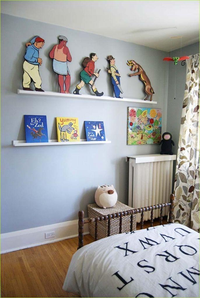 Clever Ideas Nursery Wall Shelf with IKEA Ikea kids room