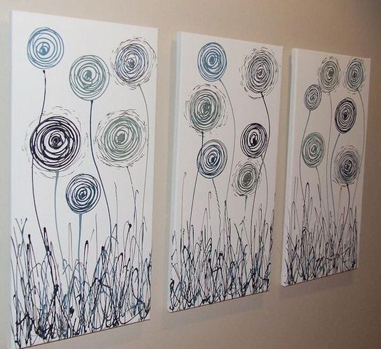 Gorgeous 30 Best Easy Diy Wall Art Ideas Https Livingmarch Com 30 Best Easy Diy Wall Art Ideas Diy Canvas Art Abstract Canvas Painting Canvas Painting
