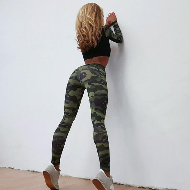 c9aad57078 Yoga Set Sportswear | Clothing & Accessories | Camo yoga pants, Yoga ...