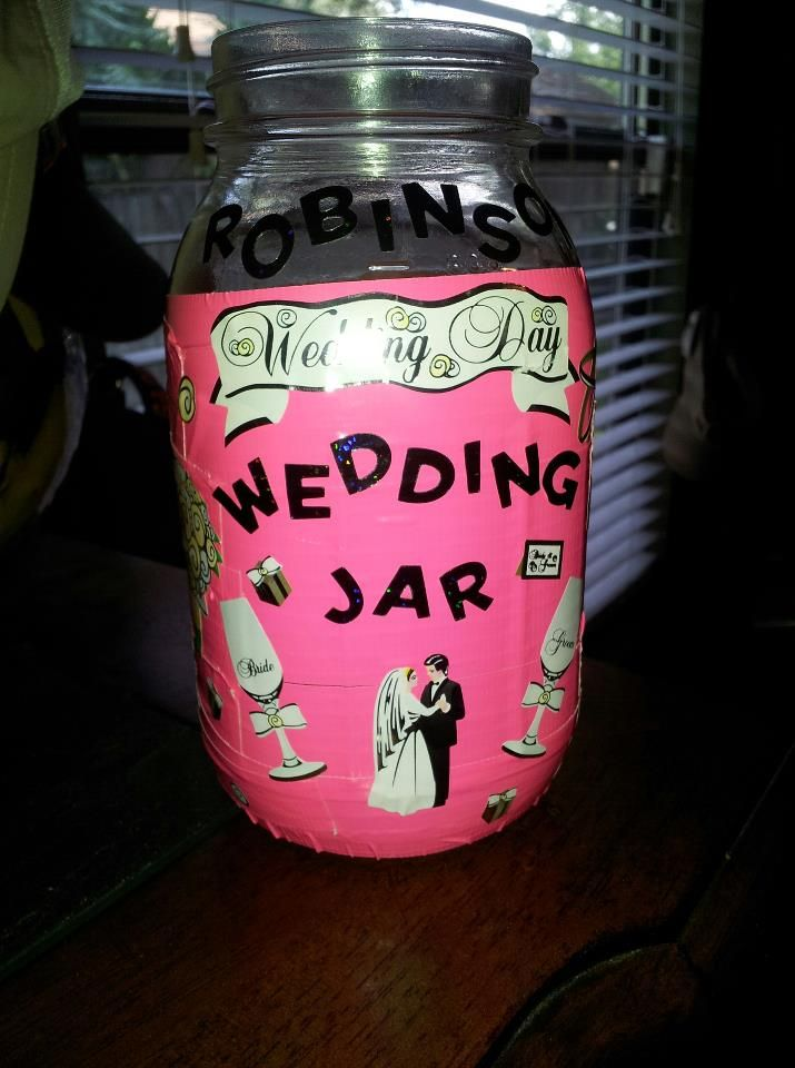 The savings jar I made :)