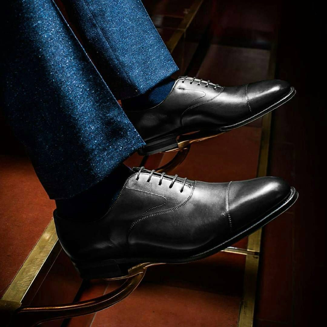 The black Chelsea - one of Esquire Malaysia's ten shoes every man needs #edwardgreen @esquireMY #mensshoes #mensstyle #madeinengland #エドワードグリーン