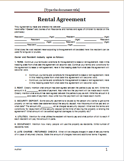 A lease agreement contains conditions regarding the staying in a property, signed and executed by the landlord and the tenant. Lease Agreement Template Word Http Gtldworldcongress Com Rental Agreement California Pdf Rental Agreement Templates Contract Template Lease Agreement