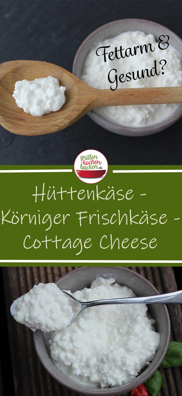 Hüttenkäse - Körniger Frischkäse - Cottage Cheese selber machen