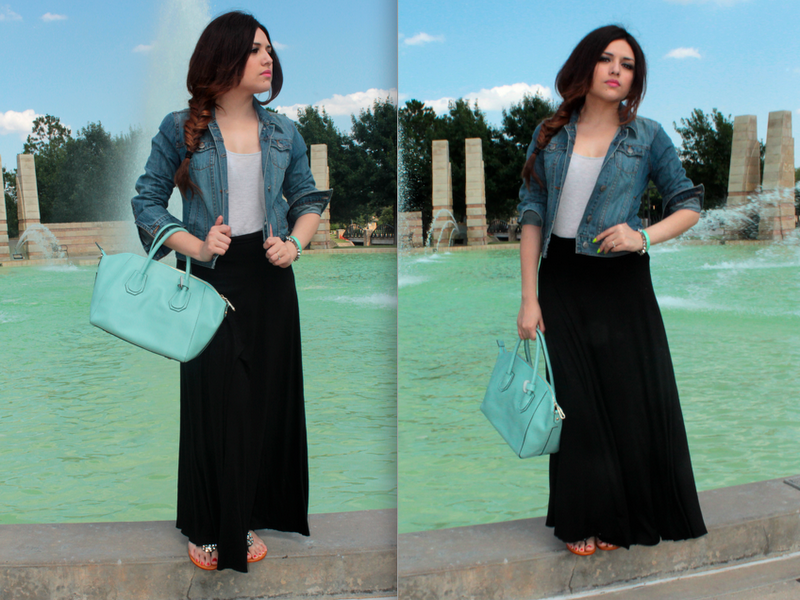 how to wear black maxi skirt google search hijab