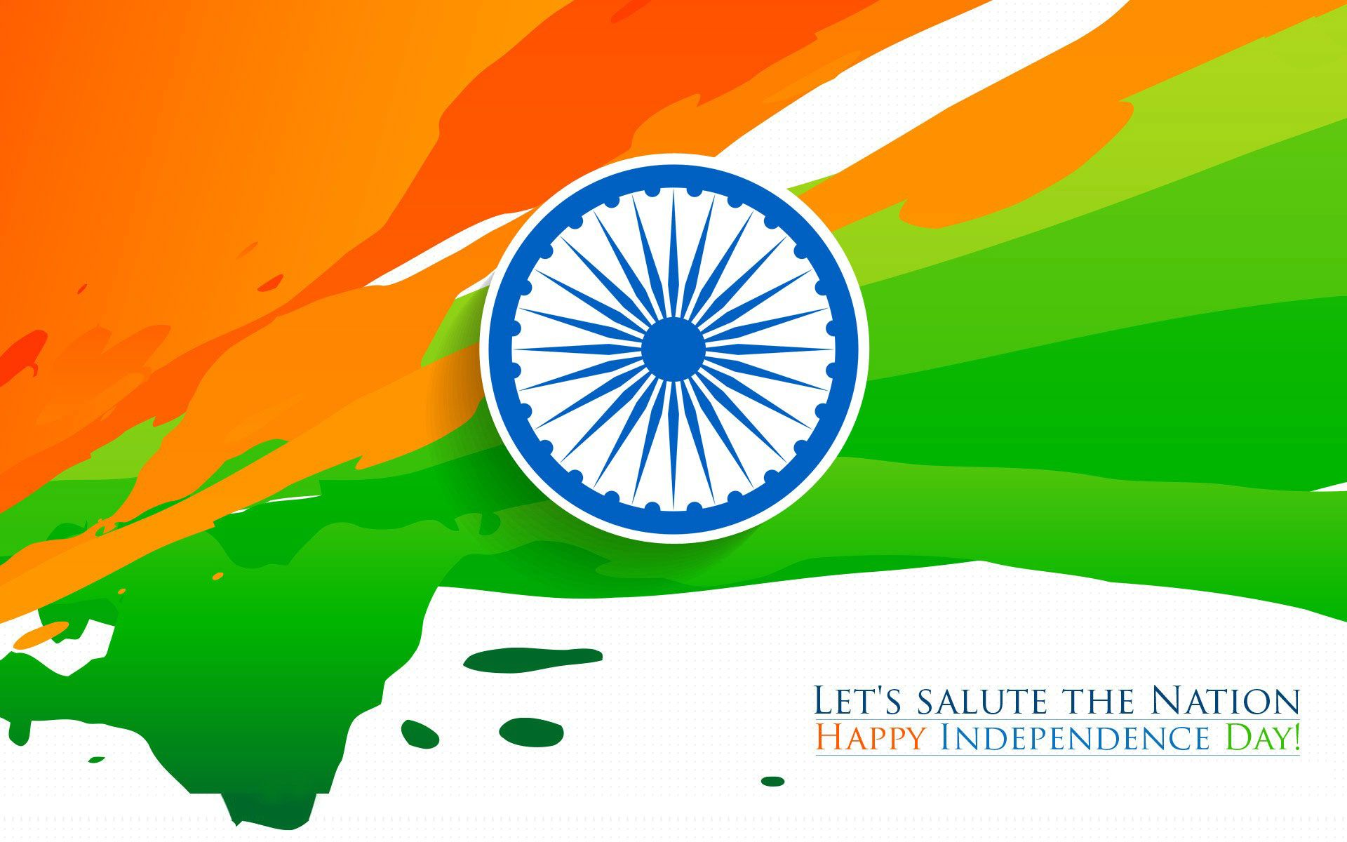 Indian Flag Images Hd720p: Happy Independence Day Indian Flag Tricolor HD Wallpaper