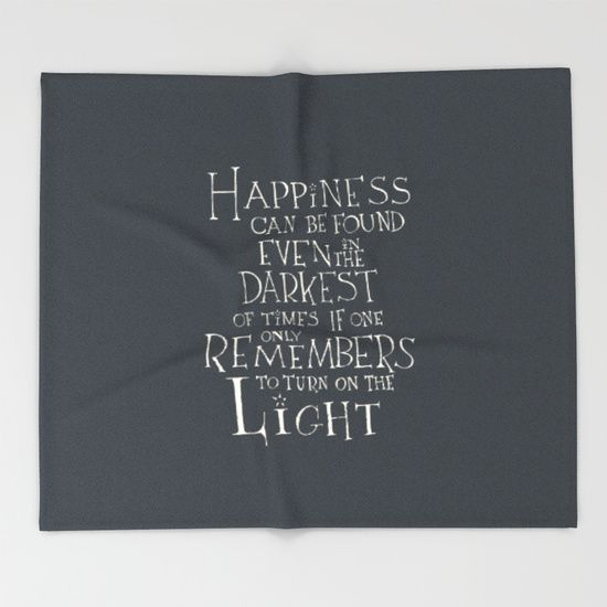 Harry Potter Albus Dumbledore Quote Typographic Art