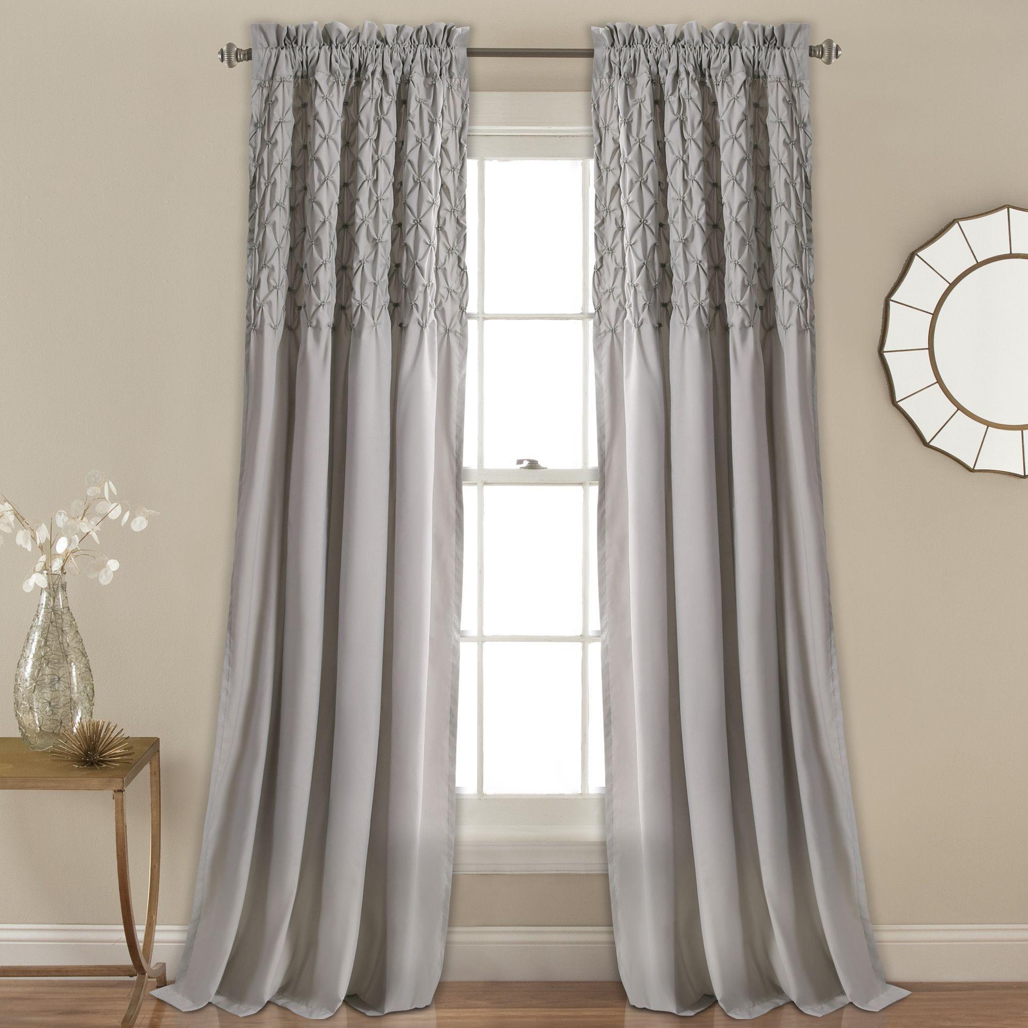 Bayview Window Curtain Set Minimalist Home Decor Minimalist Curtains Lush Decor