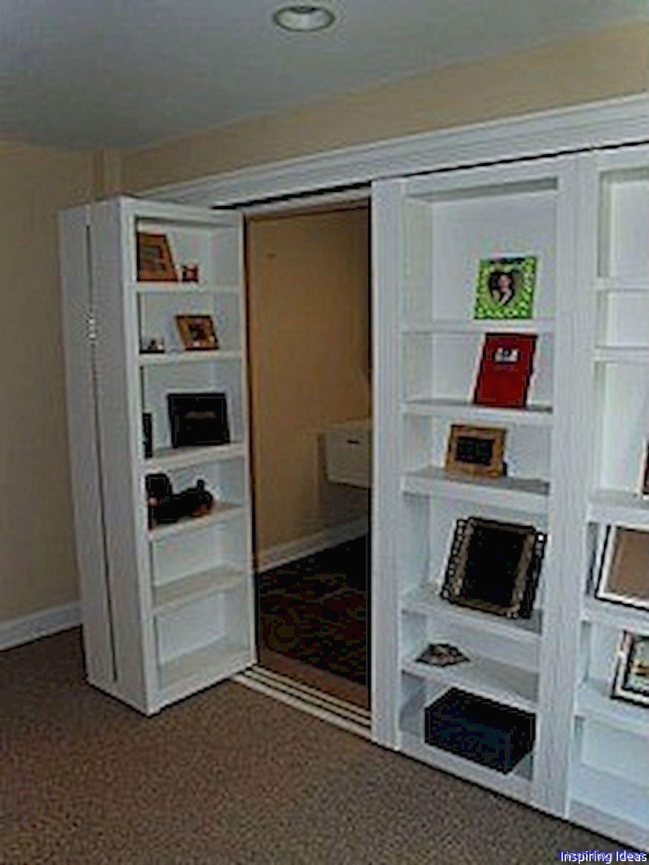 65 Genius Secret Room Ideas That Inspiring Bookshelf