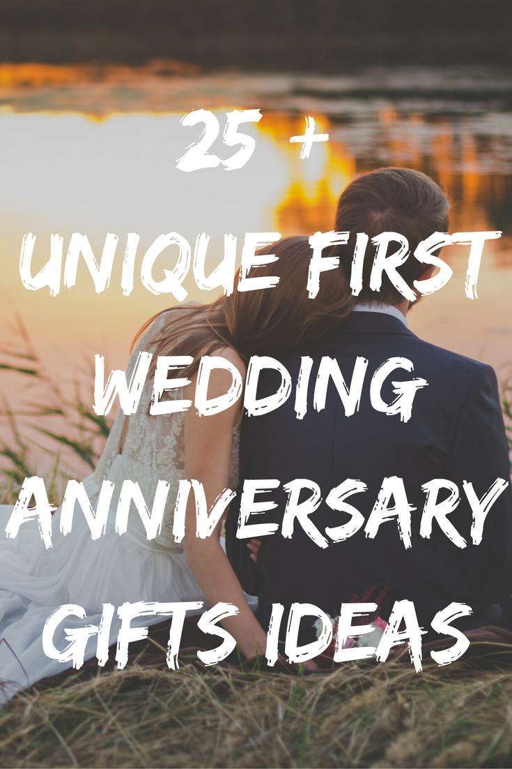 Best 1st Wedding Anniversary Gifts Ideas 35 Unique Paper Presents