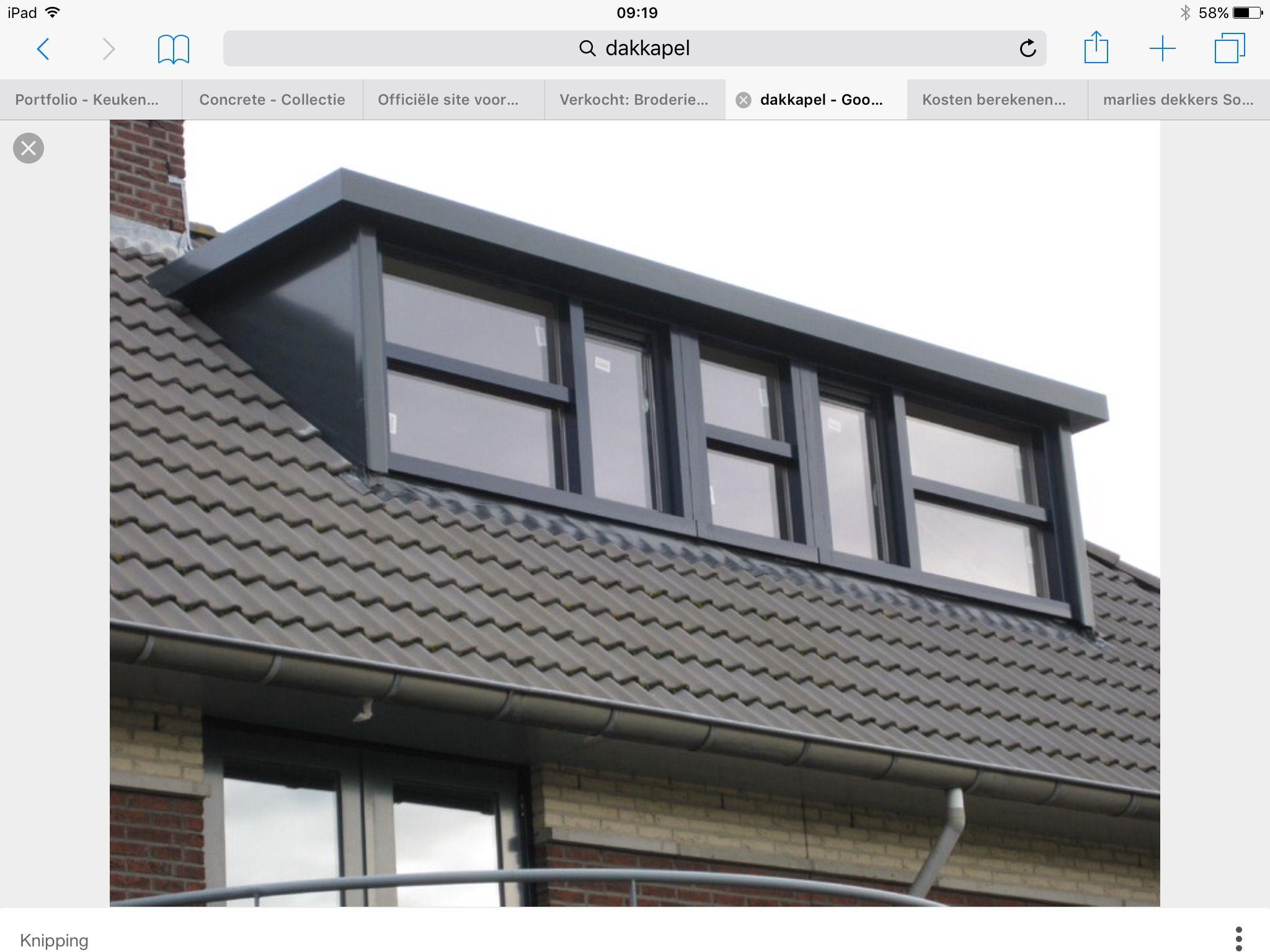 Dakkapel nieuwbouw en renovatie attic bungalow