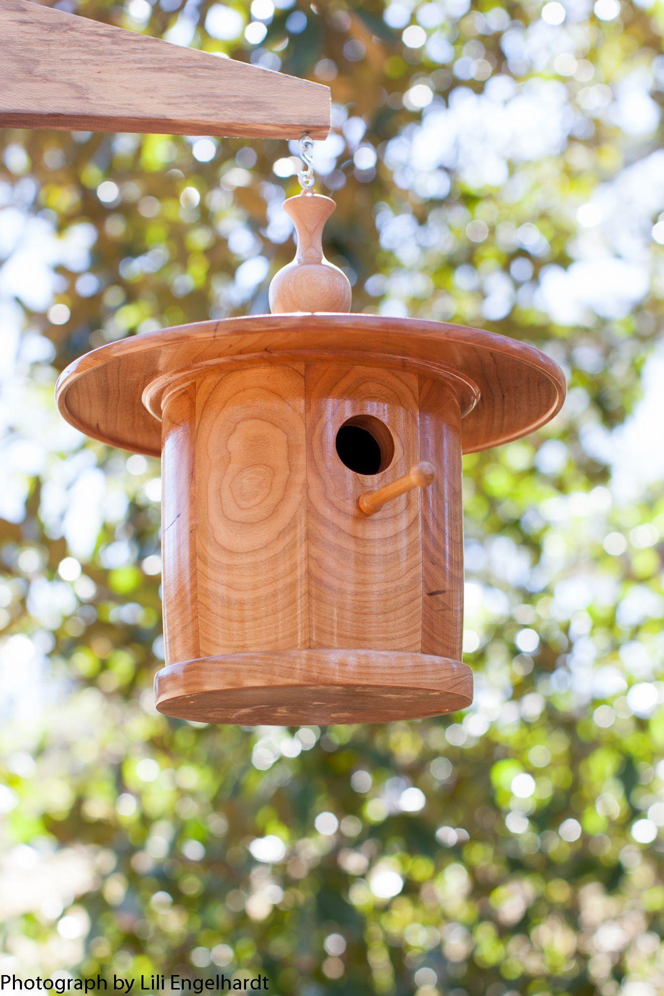 Cherry Zen Songbird House Robert S Shuping Wood Works The