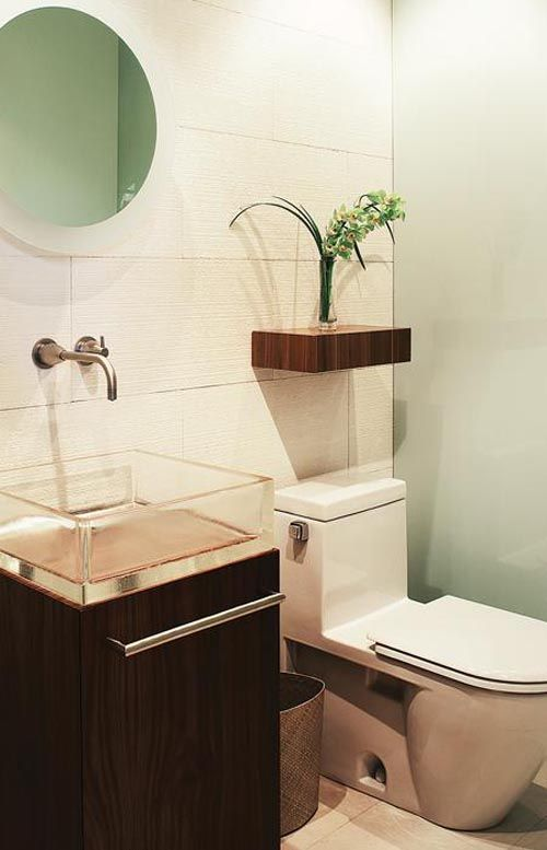 1000+ images about favorite powder rooms on Pinterest | Powder ...