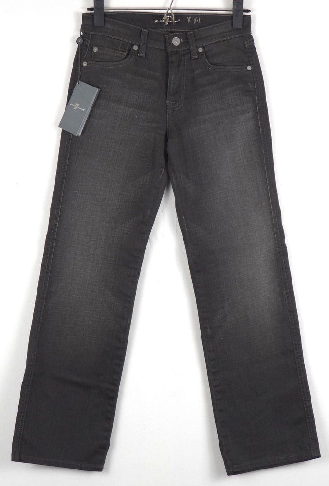 7 For All Mankind A Pkt Bootcut Jeans Gray Womens Size 10 Measures 26 x 28 NWT #7ForAllMankind #BootCut
