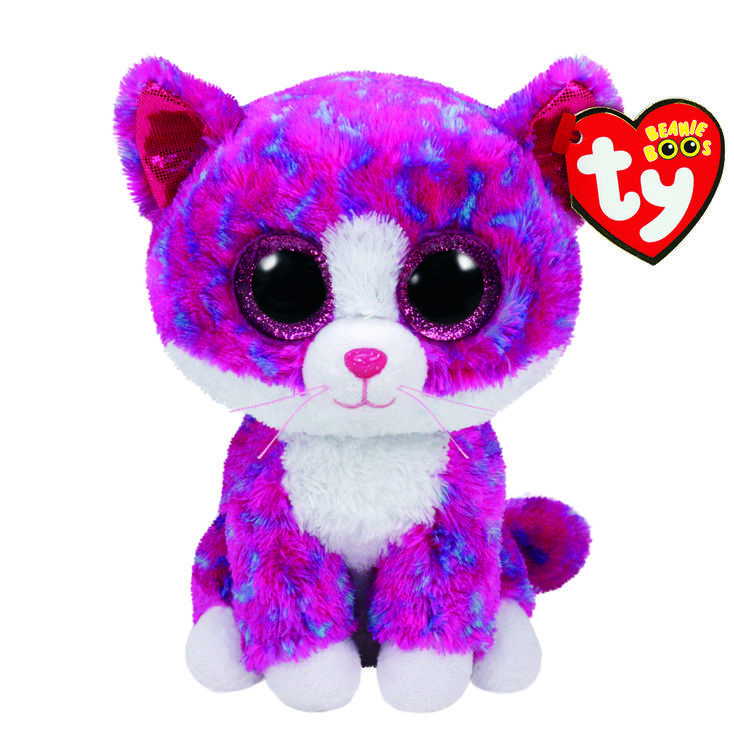 cc43a370c40 Ty Beanie Boo Medium Charlotte The Cat Plush Toy