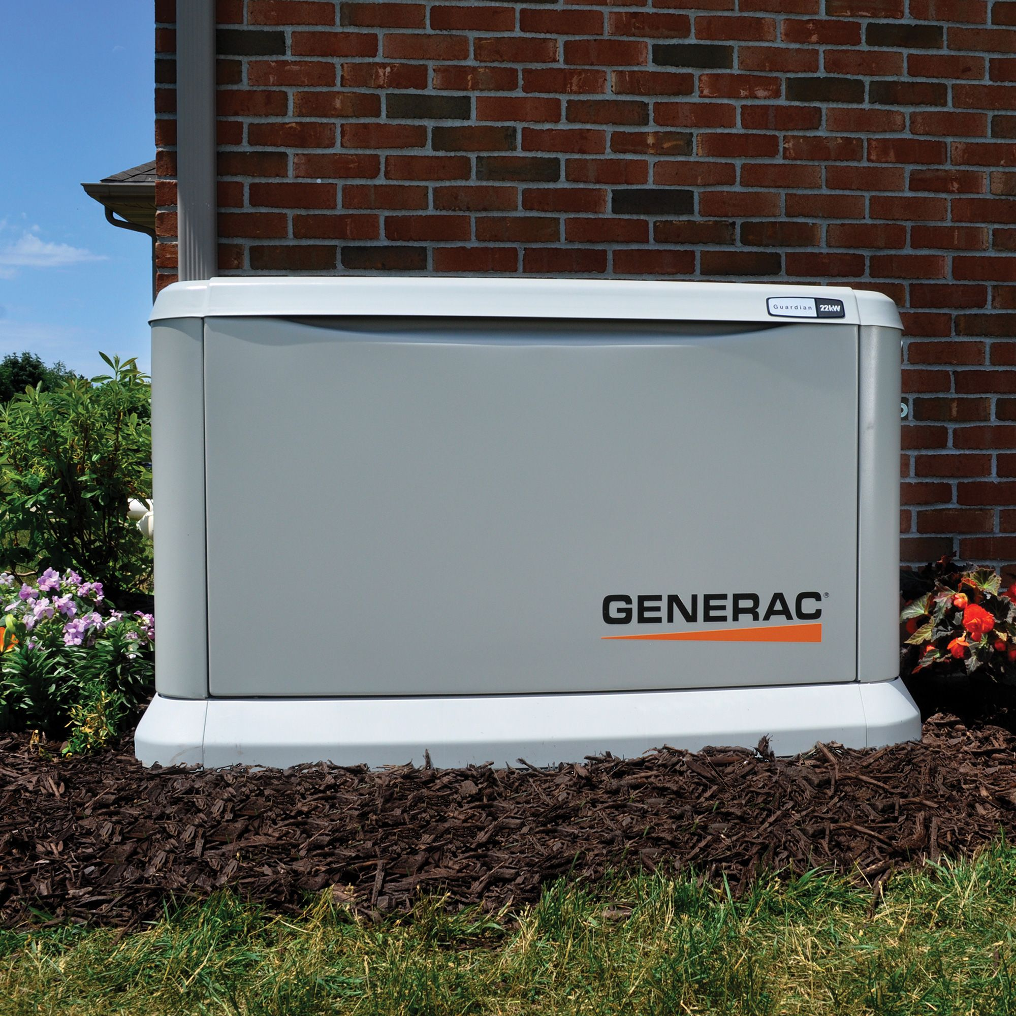 Generac Guardian Series 22kw Stand Alone Generator Call Us Today For Sales Or Support Standby Generators Generator House Central Air Conditioning Units