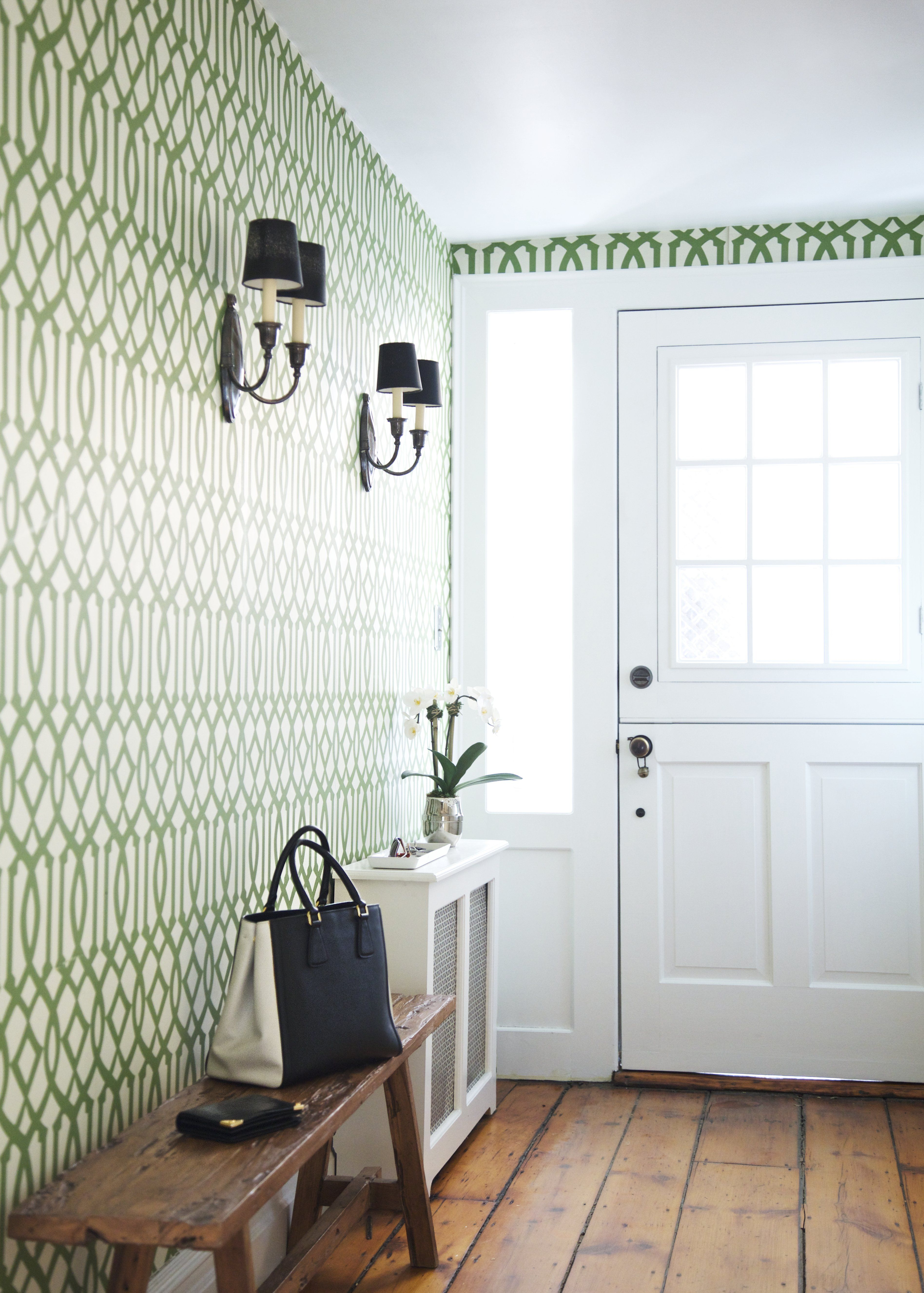1950s hallway ideas   EyeCatching Entryways With One Simple Stylish Thing in Common