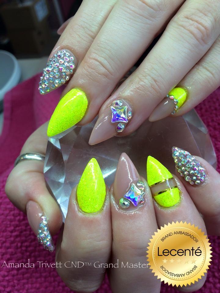 Ultra fabulous #nails by Amanda Trivett using #CND Shellac with ...