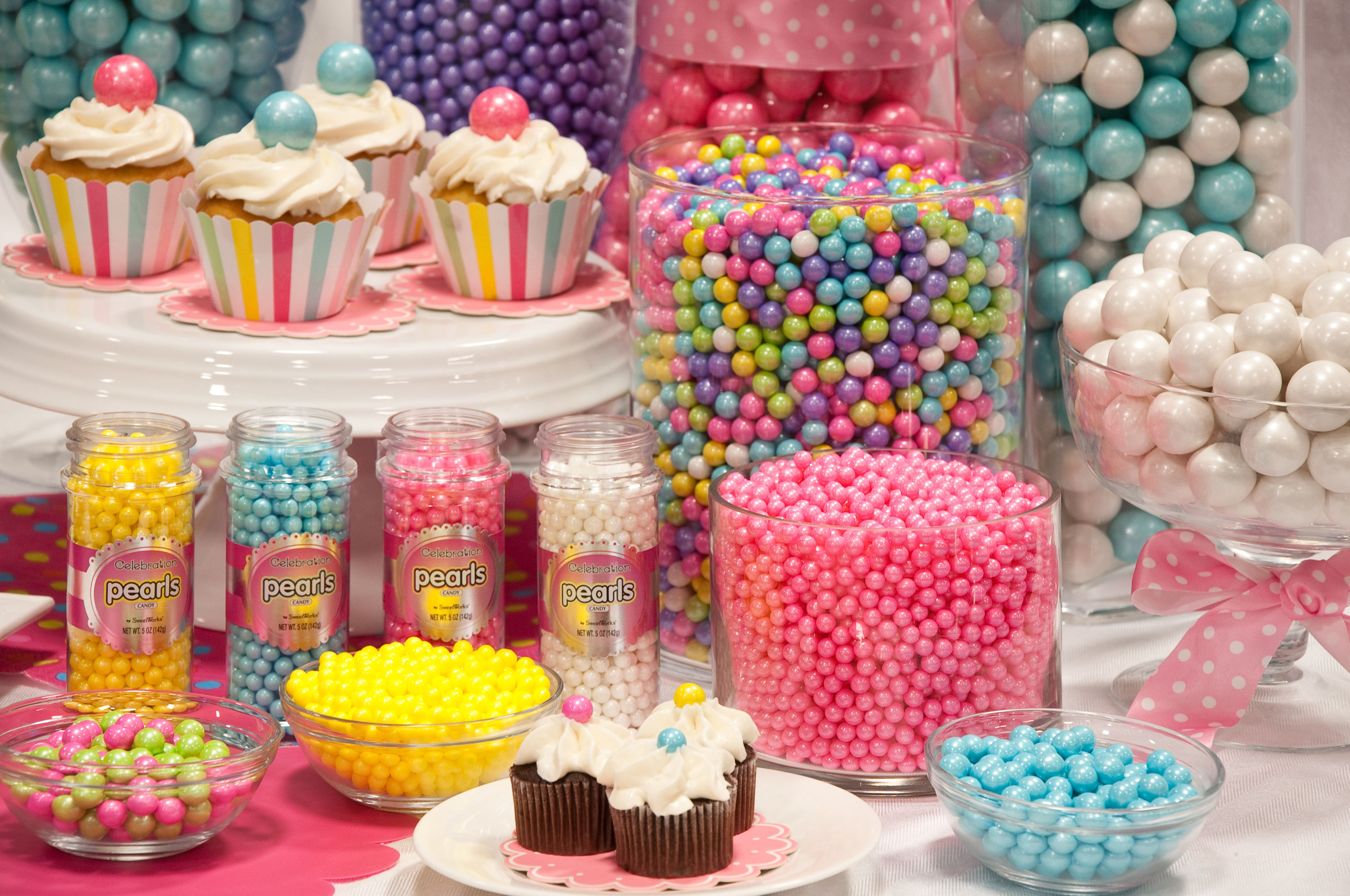 Magnificent Colorful Candy Buffet With Celebration By Sweetworks Its Interior Design Ideas Inesswwsoteloinfo