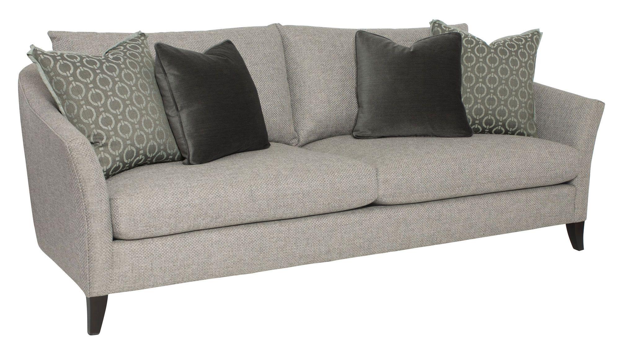 b8827 clairborne sofa bernhardt w 91 5 d 42 h 37 sh 17 ah 27 sd 24 8foot 2cushion nonskirted