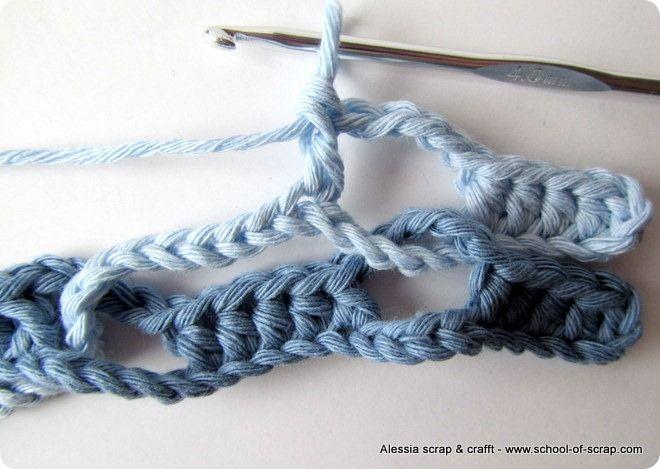 Tutorial del Punto Onda (Wave puntada) | Ganchillo | Pinterest ...