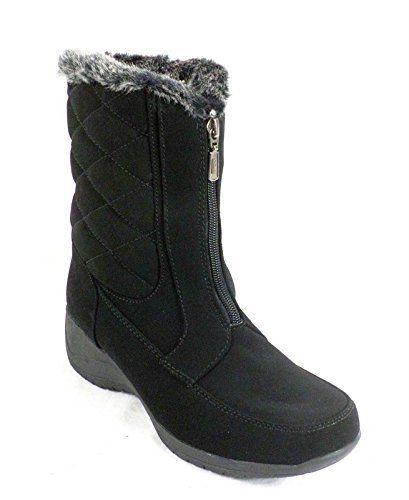 b9e3078068e Khombu Angela Women US 5 Black Winter Boot >>> Visit the image link ...