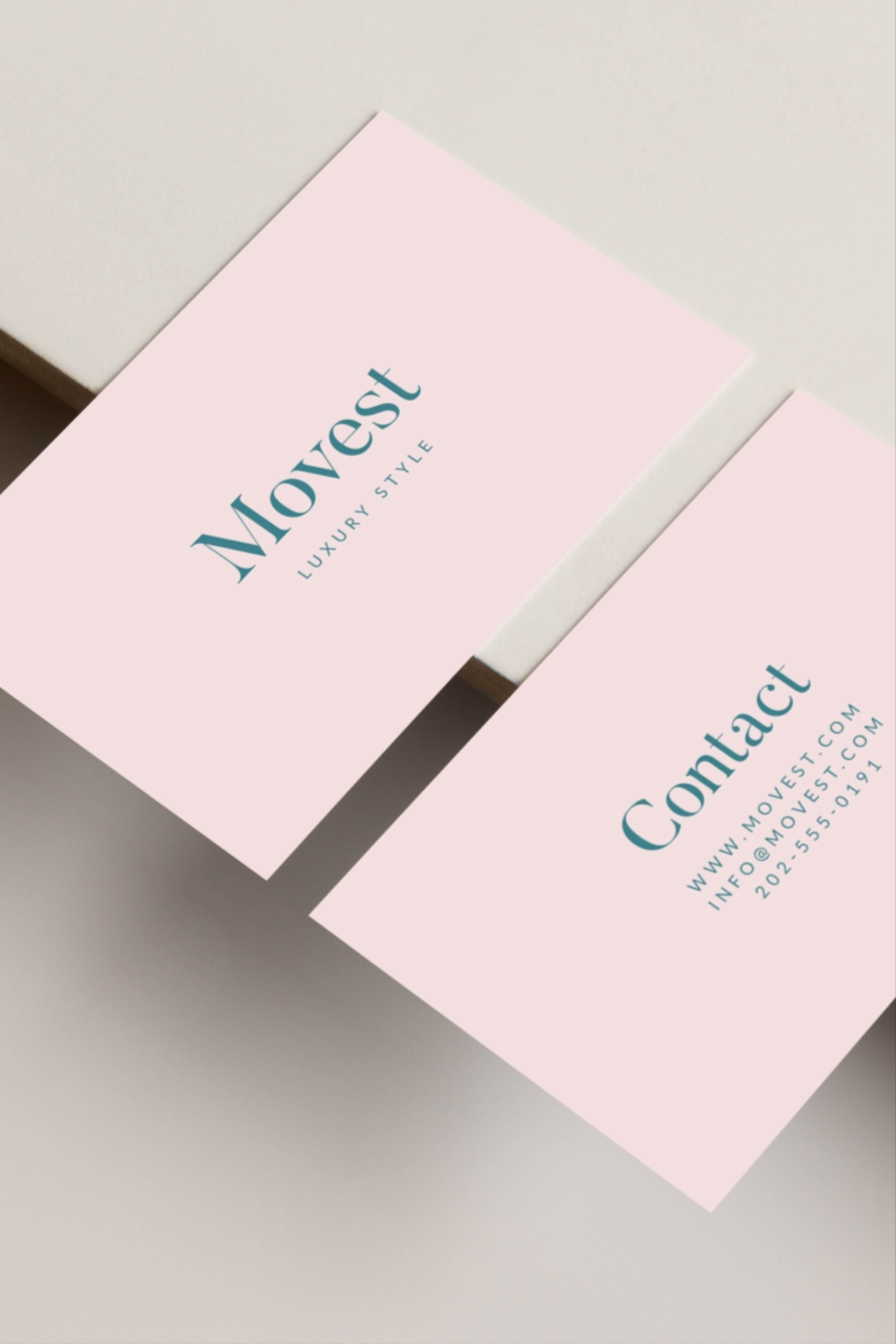 Movest Business Card Diy Business Cards Business Card Template Design Business Card Inspiration