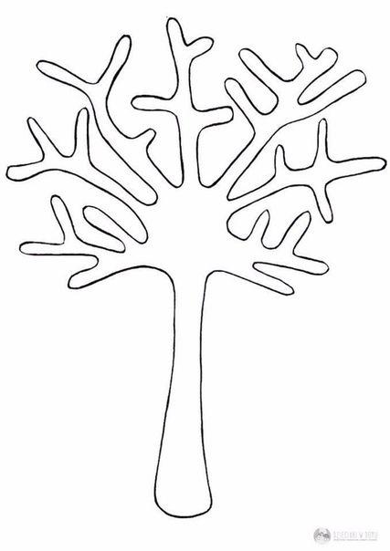 Осеннее дерево с тыквенными семечками. — Поделки с детьми ...