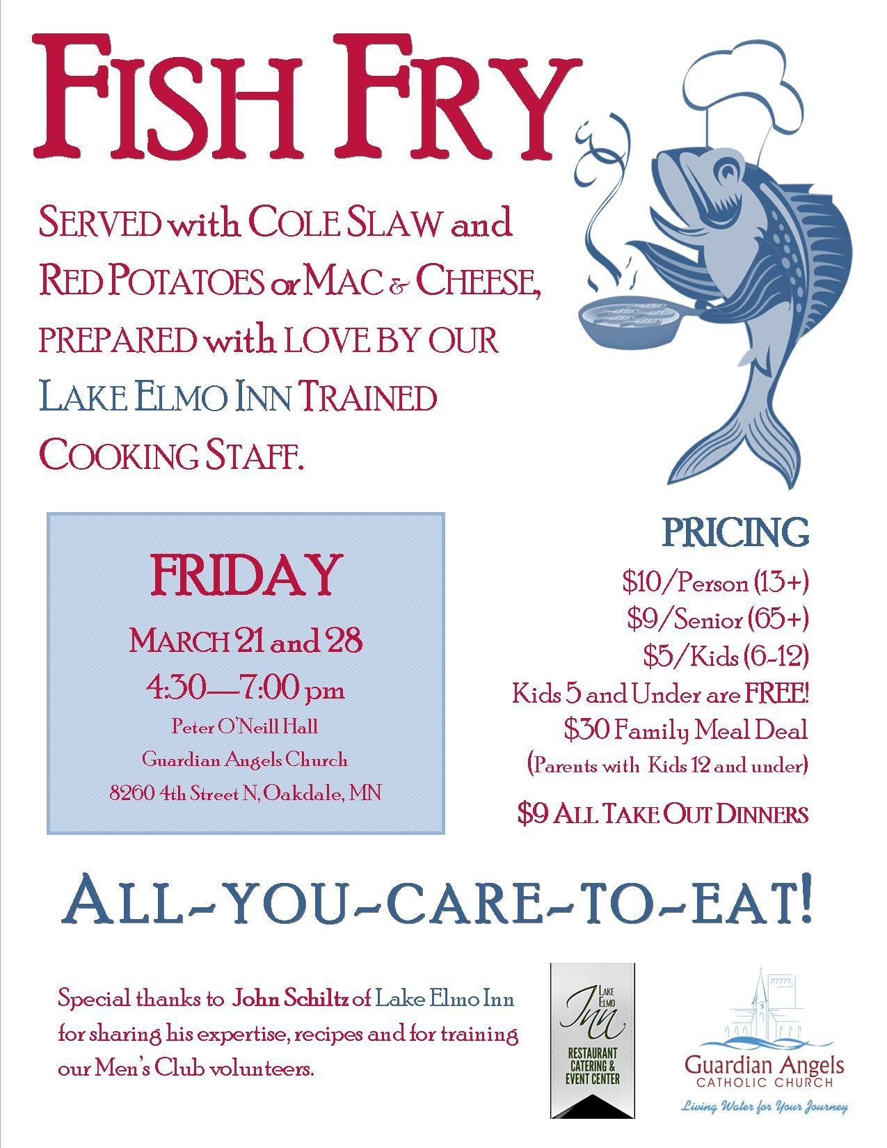 fundraising fish fry