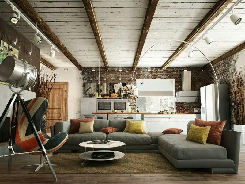 Plafond Poutres Apparentes Et Planches Bois Blanc Vieilli Mur Pare Petite Loft Interior Design Modern Scandinavian Bedroom Design Scandinavian Design Bedroom