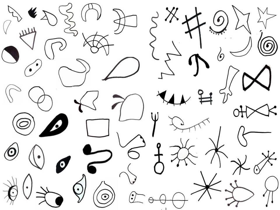 how to draw like joan miro