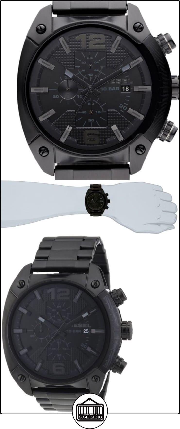 bdf158fa0e7a Diesel DZ4223 - Reloj cronógrafo de cuarzo para hombre con correa de acero  inoxidable bañado